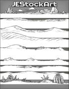 JEStockArt - SciFi - Various Landscapes 001B - Desert - Bundle
