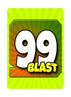99Blast - The Counting Card Game that is a Blast (Gold Edition)