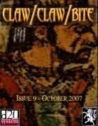 Claw / Claw / Bite - Issue 9