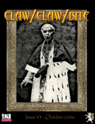 Claw / Claw / Bite - Issue 3 - 2nd Printing
