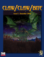 Claw / Claw / Bite - Issue 5 - 2nd Printing