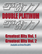 Spirit of 77 - Double Platinum Collection [BUNDLE]