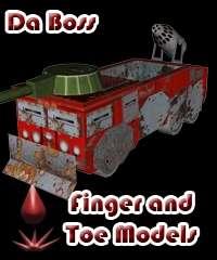 Da Boss -- Post-Apocalyptic Fire Truck