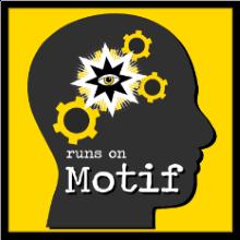 Runs on Motif