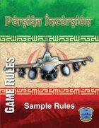 Persian Incursion Rules
