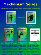 Mechanism Series: Characters, Story, Setting, Violence [BUNDLE]