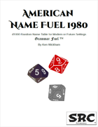 American Name Fuel 1980