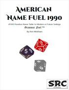 American Name Fuel 1990