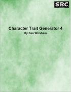 Character Trait Generator 4