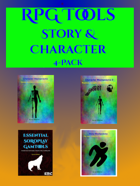 Solo RPG Tools: Story & Character 4-Pack [BUNDLE]