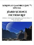 SoRoPlay GamTools Zine: Hard Science Fiction Ref