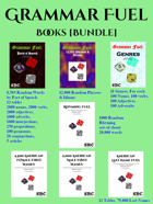 Grammar Fuel Books - Random Words & Phrases 7-Pack [BUNDLE]