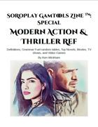 SoRoPlay GamTools Zine: Modern Action & Thriller Ref