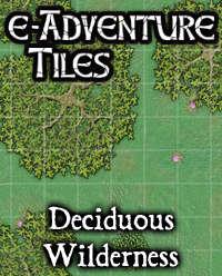 e-Adventure Tiles: Deciduous Wilderness