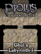 Ptolus e-Adventure Tiles: Ghul's Labyrinth I