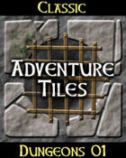 Classic Adventure Tiles: Dungeons 01