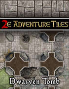 2e Adventure Tiles: Dwarven Tomb