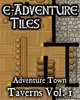 e-Adventure Tiles: Adventure Town Taverns Vol. 1