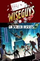 Wiseguys: GM SCreen Inserts