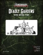 Deadly Gardens Extra: Natural Items