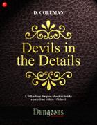 Devils in the Details (Level 16 PCs)