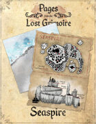 Pages from the Lost Grimoire - Seaspire / What Lurks Below