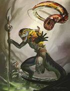 Cover full page - Lizardman Host - RPG Stock Art