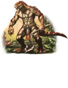 Character - Saurian - RPG Stock Art