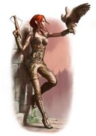 Character - Elf Rogue - RPG Stock Art
