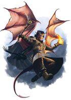 Character - Demon Wizard - RPG Stock Art
