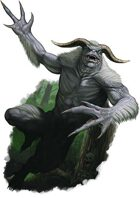 Character - Great White Troll - RPG Stock Art