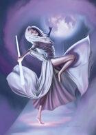Cover full page - Dancing Elf - RPG Stock Art