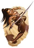 Character - Dewa - RPG Stock Art
