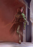 Cover full page - Ryn - RPG Stock Art