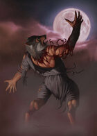 Cover full page - Werewolf - RPG Stock Art