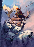 Cover full page - Winter's Bite - RPG Stock Art