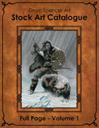 Catalogue - Colour Full Page Volume 1 - RPG Stock Art