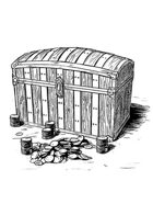 Filler spot - items: treasure chest - RPG Stock Art