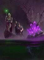 Quarter page - Cavern Explorers - RPG Stock Art