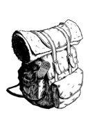 Filler spot - items: adventurers backpack - RPG Stock Art