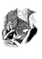 Filler spot - environment: dwarven kitchen - RPG Stock Art