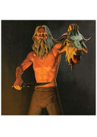 Colour card art - event: sacrifice - RPG Stock Art