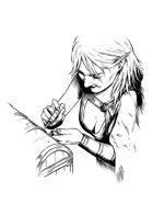 Filler spot - character: elf thief - RPG Stock Art