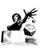 Filler spot - character: game master - RPG Stock Art