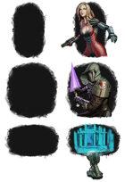 Backgrounds for fillers - watercolour splats - RPG Stock Art