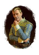 Filler spot colour - character: gentleman rogue - RPG Stock Art