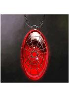 Colour card art - items: amulet: spiderweb - RPG Stock Art