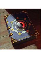 Colour card art - items: book of magic - RPG Stock Art