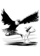 Filler spot - creature: eagles - RPG Stock Art
