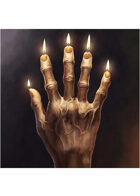 Colour card art - items: hand of glory - RPG Stock Art